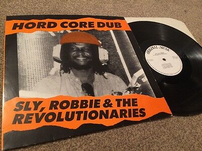 "Sly, Robbie & The Revolutionaries ""Hord Core Dub"" vinyl LP Original"