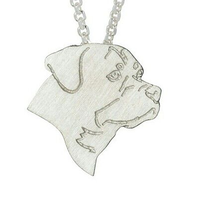 NEW Rottweiler Necklace Pendant Chain