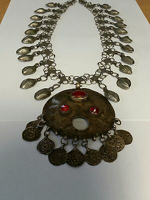 Antique Old Silver Plated Pendat.