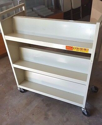 Bretford Book Cart -  6 shelves - double sided - rolling