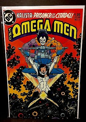 OMEGA MEN #3 1st Appearance LOBO DC Comics Keith Giffen 1983 VF