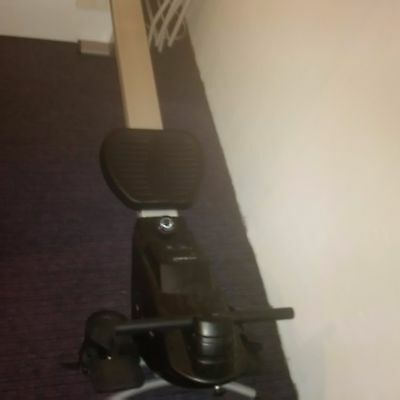 Roger Black magnetic action rowing machine barely used