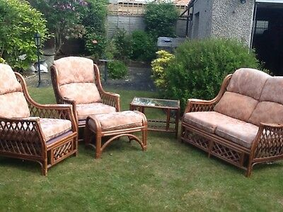 used wicker conservatory furniture