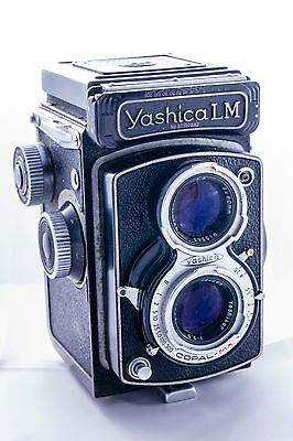 Yashica LM TLR Medium Format Camera