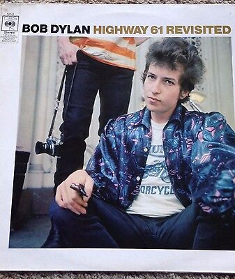 BOB DYLAN Highway 61 revisited RARE LABEL ERROR 1965 & 1975  vinyl record S62572