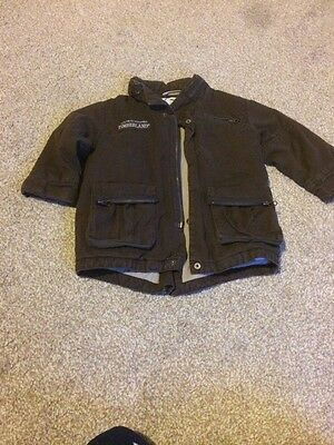 Baby Boys Brown Timberland Coat 18-24 Mths Jacket
