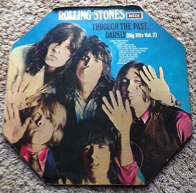 Rolling Stones-Through The Past Darkly SKL 5019 early 1969 unboxed Decca vinyl