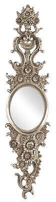 Oval Antique silver leaf Wall Mirror Astoria Grand FREE SHIPPING (BRAND NEW)