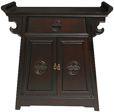 Lacquer Altar Cabinet Oriental Furniture FREE SHIPPING (BRAND NEW)
