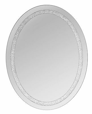 Oval Beaded Crystal Wall Mirror Selections by Chaumont FREE SHIPPING