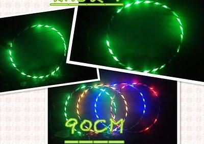 90CM light flash LED plus Hula hula hoop fitness increased/*