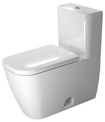 Happy D.2 Dual Flush Elongated One-Piece Toilet Duravit FREE SHIPPING
