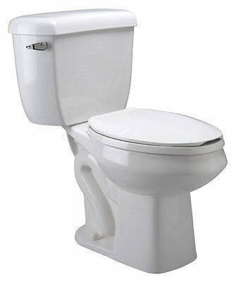 Pressure Assist Dual Flush Elongated Two-Piece Toilet Zurn FREE SHIPPING