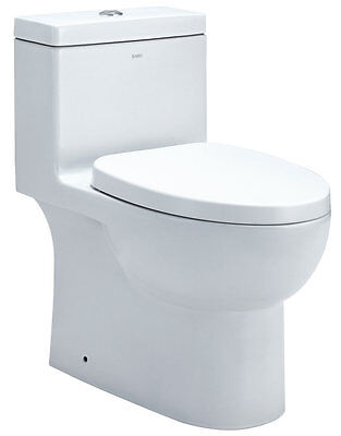 Dual Flush Elongated One-Piece Toilet EAGO FREE SHIPPING (BRAND NEW)