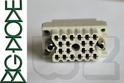 00-8016-020-000-002 Elco 20P Rack & Panels Connectors