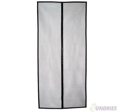 Magnetic Fly Screen Mesh Door  Stop Bugs Insect Away Prevention Easy Install