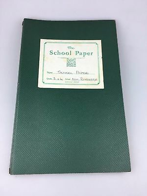 Vintage - The School Paper Binder + Papers - Mixed Years - Grades 3/4