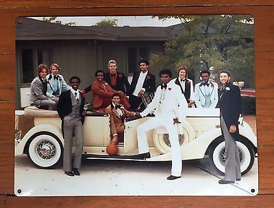 Marquette Warriors Basketball Milwaukee 1977 NCAA Champs Vtg Poster Metal Sign