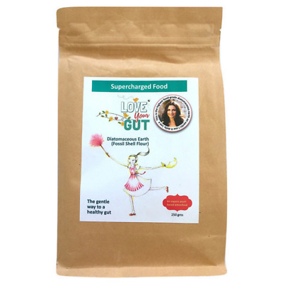 Supercharged Food Heal Your Gut Food Grade Diatomaceous Earth Powder 250 g