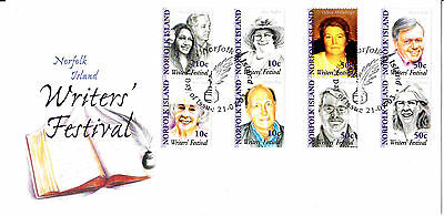 2003 - Norfolk Island -  Writers Festival  - First day cover
