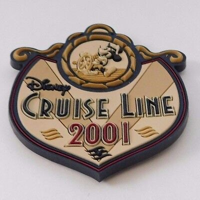 Disney Cruise Line DCL 2001  Fridge Magnet Steamboat Willie Mickey Mouse