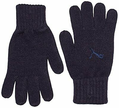 PUMA, Guanti Unisex Fundamentals Knit, Nero (New Navy/Lighter New Navy), (A7z)