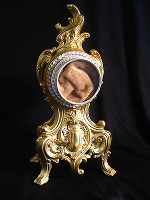 18 KT Painted Double Sided Reliquary Display