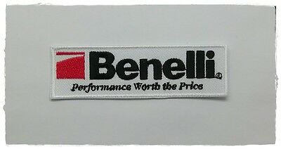 Benelli Patch Embroidered Sew Iron On Italian Motorcycle Racing Motorsport Badge