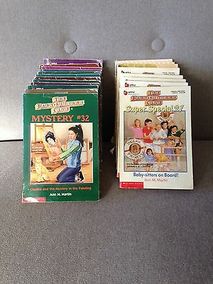 the baby sitters club bulk lot of 21 books