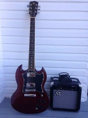 SX SG Style Electric Guitar & Amp Pack