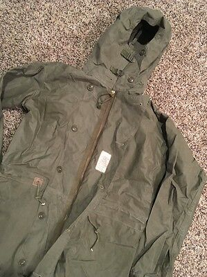 Vintage WW2 1944 Impermeable Suit Military Issued Climatic Rainware Co Excellent