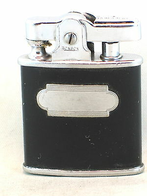 Black enamel Ronson Princess pocket lighter