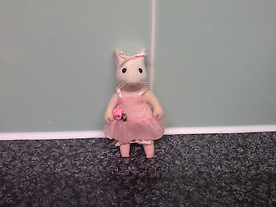 Angelina Ballerina mouse.Flair 2002.From Theatre Stage Ballet playset=MOUSE ONLY