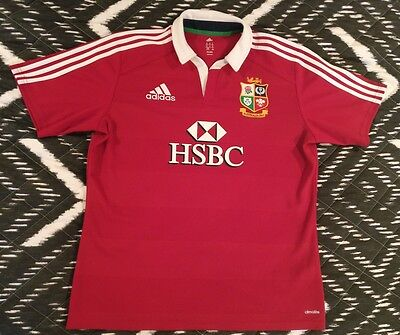 Adidas Mens XL British Lions 2013 Australian Tour Rugby Union Brand New Jersey