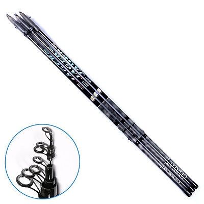 Telescopic Adjustable carbon Rock Fishing Rod Pole Saltwater Tackle 4m 5m 6m