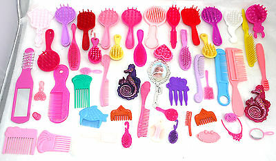 Huge Lot Old & Recent Barbie Doll Accessories Hair Dolls  ++  Ba2