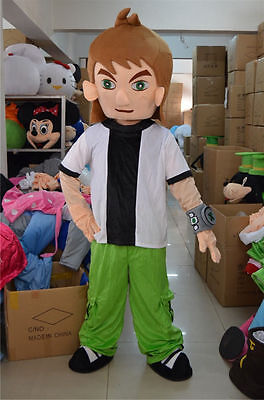 NEW  Cartoon Mascot Costume Brave characters Fancy Dress Adult Size Free Ship
