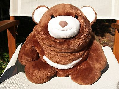 "Rare Gund- Extra Large- Chocolate Brown Snuffles Bear- #15174- 13 1/2""-Very Nice"