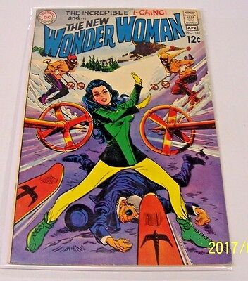 Wonder Woman #181 VF+ March 1969 DC Comics Silver Age