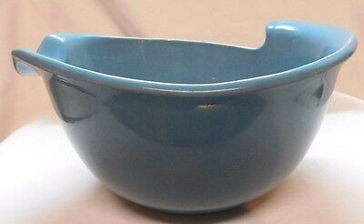 Red Wing Eva Zeisel Town And Country  Bowl Blue Mid Century