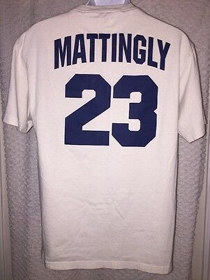 75fe21a0f Don Mattingly New York Yankees Jersey T-shirt size adult Medium by Majestic
