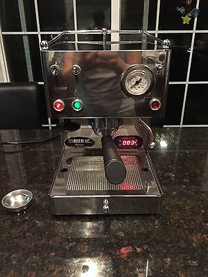 Isomac Super Giada Expresso Machine Coffee Brass Boiler PID