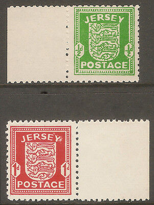 GB UK JERSEY 1942 German occupation issues MNH + margins
