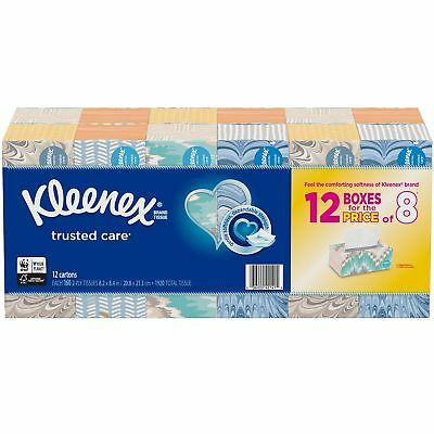 New 12 pack 160 Kleenex Ultra Soft Facial Tissues 1,920 total No Tax Free Ship