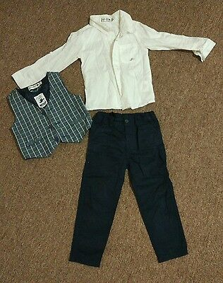 boys formal suit wedding page boy size 3 juniors brand