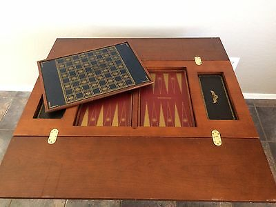 Franklin Mint The House of Faberge Imperial 5 in 1 Game Table- TABLE ONLY