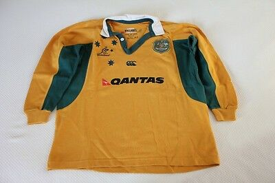 Boy's authentic Wallabies Jersey size 10