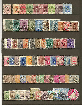 collection timbres EGYPTE