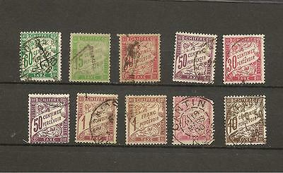 timbres FRANCE lot taxe Duval