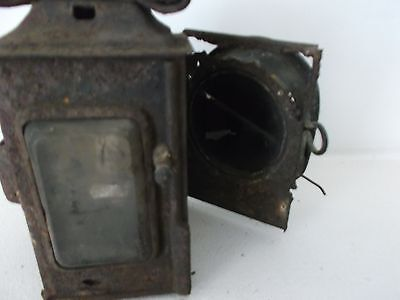 "Vintage Antique ""miller"" Coach/carriage Oil Lamp"
